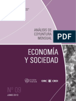ECONOMIA Y SOCIEDAD - N 9 - JUNIO 2013 - PARAGUAY - PORTALGUARANI