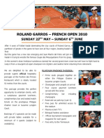 French Open Tennis 2010