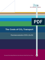 Cost CO2 Transport Report