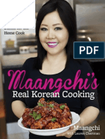 MAANGCHI'S REAL KOREAN COOKING by Maangchi