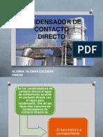 CONDENSADOR DE CONTACTO DIRECTO - Alemán Escobar, Ximena.pptx