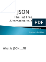 Json the Fatfree Alternative to Xml4594