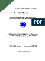 Tesi Di Laurea-T Spolador - Terapi Sistematica Individuale e EMDR