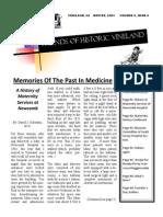 2001 Winter Newsletter