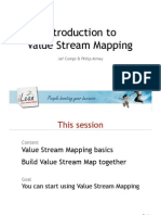 Introduction to Value Stream Mapping