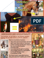 4th Quarter 2014 Lesson 7 Taming the Tongue Powerpoint Presentation