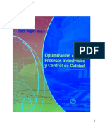 Optimizacion de Procesos Industriales y Control de Calidad