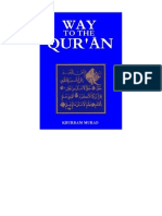 Way to the Qur'an by Khurram Murad
