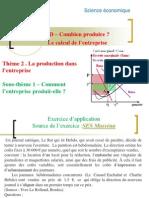 TD - Le calcul de maximisation des entreprises.pptx
