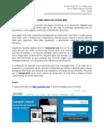Como Crear Una Página Web en Jimdo