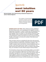 Mckinsey-Management Intuition for the Next 50 Years