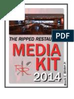the ripped restaurant media kit 2014