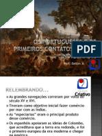 Os portugueses e os primeiros contatos com os indgenas