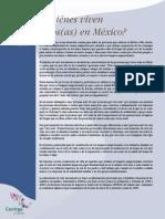 Quienes Viven Solos en Mexico