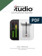 Livestream Studio Manual