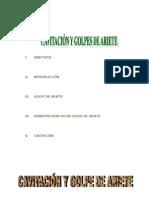 Cavitación y Golpes de Ariete