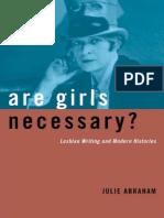 ABRAHAM, JULIE - Are Girls Necessary