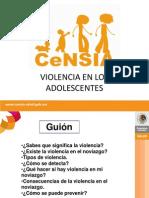 Violencia en Los Adolescentes