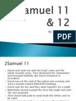 2samuel 11  12