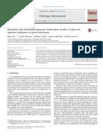 Boundary and Elastohydrodynamic Lubrication Studies