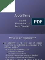 analuziz of algorthms