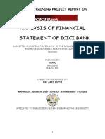 21554729 Project on ICICI Bank