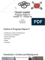 Progress Report II