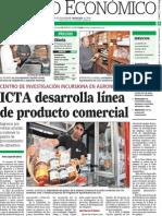 ICTA desarrolla línea de producto comercial