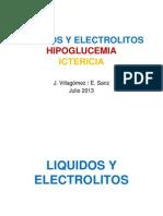liquidos, ictericia, hipoglucemia