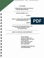 Bank of America v. Schwartz (in Re Hayes) - Appellate Brief