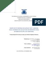 Prelimina ResDISEÑO DE UNNSISTEMA DE LLENADO TIPO CARRUSEL PARA CILINDROS DE GAS LICUADO DE PETROLEO (GLP) EN EMEGAS PLANTA SAN CRISTOBAL