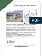 Determinacion de Caracteristicas Del Aire de La Provincia de Junin