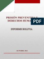 Prisión preventiva y Derechos Humanos en Bolivia