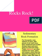 sedimentary rocks w