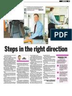 Rob Marsh, Keeping Fit, Sun Media (Nov. 9, 2009)
