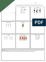 tai chi challenge worksheet