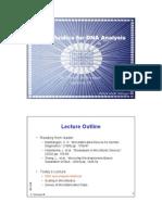 Microfluidics for DNA Analysis