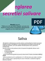 Reglarea secretiei salivare