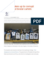 Mexico Wakes Up to Corrupt Politics and Brutal Cartels