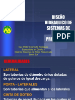 EXPOSICION DISEÑO HIDRAULICO