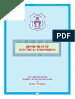 NIT Warangal EEE Curriculum