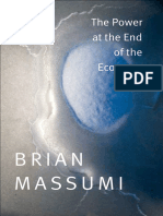 The Power at the End of the Economy by Brian Massumi