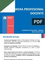 Mineduc Camara Modificaciones Carrera Docente 30-7-2013