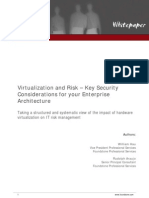Wp Virtualization and Risk