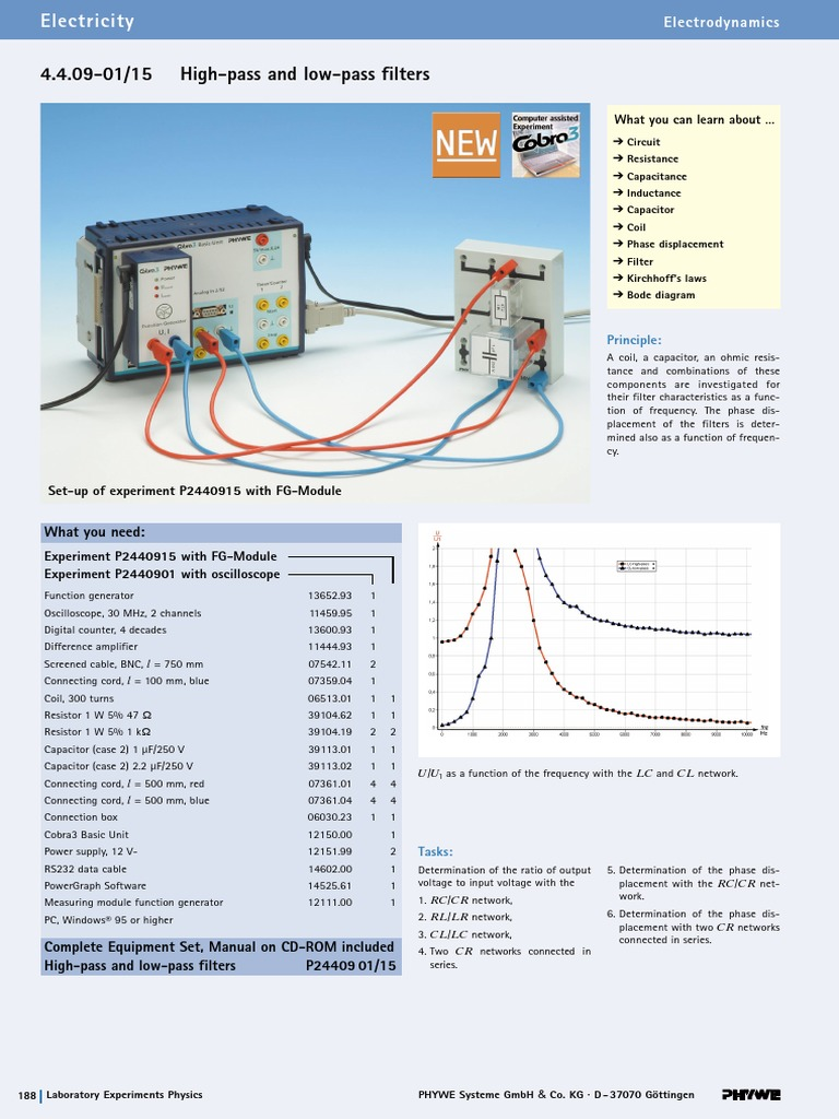 High Pass And Low Filters 1 Electronic Filter Circuit Diagram For