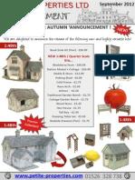 Petite Properties' News Annoucement September 2012