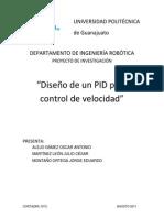 Diseno de Un PID Para Control de Velocidad
