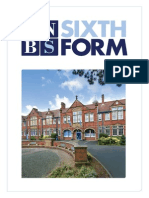 King's Norton Boys' School Sixth Form Prospectus