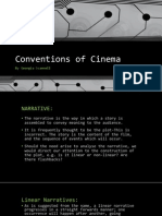conventions of cinema
