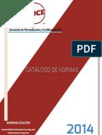 Catálogo Normas ANCE